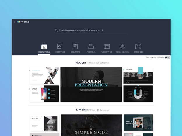 Visme - The Easiest Graphic Design Tool 4